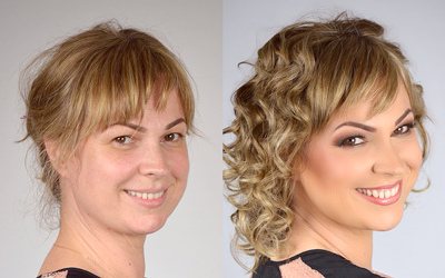 Before & After Make Up Gallery